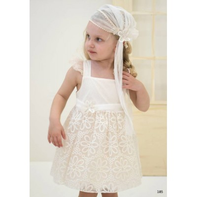 Βαπτιστικό φόρεμα Baby Bloom BB19202