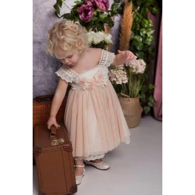 Βαπτιστικό φόρεμα Baby Bloom ΒΒ20205
