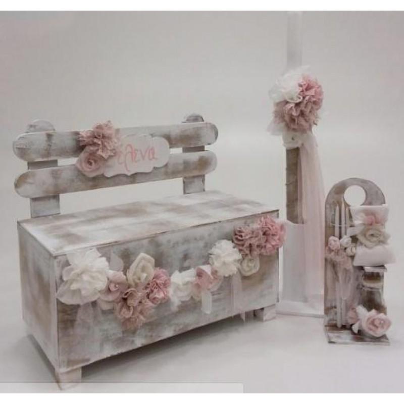 Κουτί - Λαμπάδα Garden Bench EMKL20201